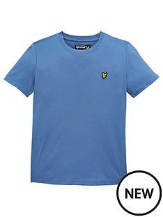 lyle-scott-boys-classic-short-sleeve-t-shirt-blue