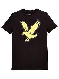lyle-scott-boys-short-sleeve-eagle-logo-tshirt