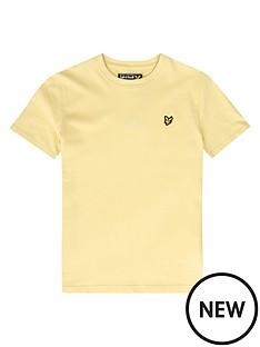 lyle-scott-boys-classic-short-sleeve-t-shirt-yellow