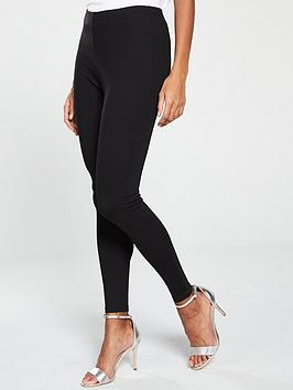 v-by-very-petite-ponte-legging-black