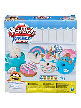 Play-Doh Play-Doh Kitchen Creations Delightful Donuts Set With 4 Colours Picture