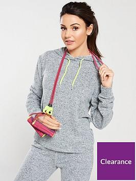 michelle-keegan-brushed-hoodienbspwith-neon-trim-grey-marl