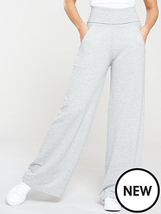 michelle-keegan-relaxed-wide-leg-jogger-grey-marl