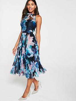 coast-etana-jaggernbsppleated-high-neck-midi-dress-blue