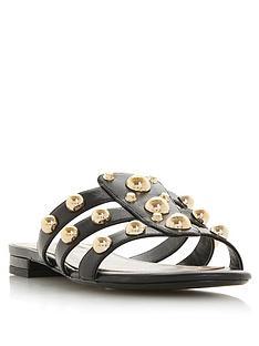 dune-london-nahlah-stud-detail-flat-sandals-black