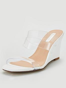 office-mirror-clear-strap-wedge-sandal