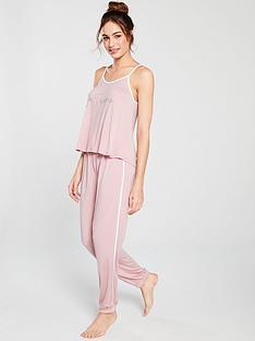 6e44bc4ea39 Boux Avenue Slogan Pyjama Set