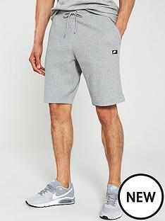 nike-sportswear-waffle-shorts-dark-grey