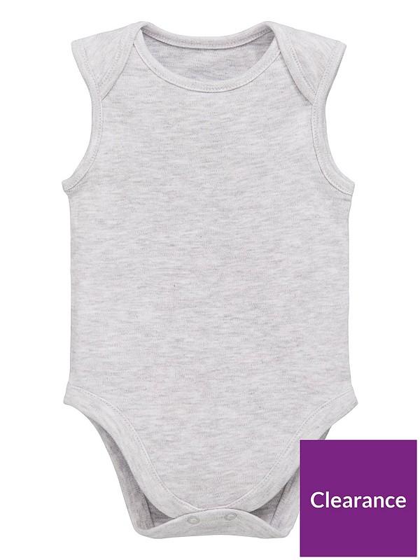 Exclusive 3-Pack Sleeveless Care Unisex Baby Bodysuit