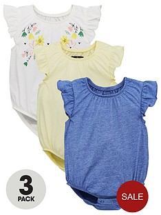 mini-v-by-very-baby-3-pack-botanical-garden-frill-sleeve-bodysuits-multi