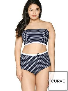 curvy-kate-sailor-girl-bandeau-bikini-top-navy