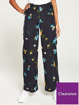 v-by-very-printed-wide-leg-linen-mix-trouser-floral-print