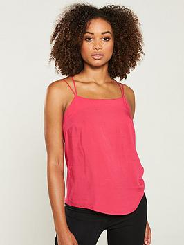 V by Very V By Very Double Strap Cami - Pink Picture