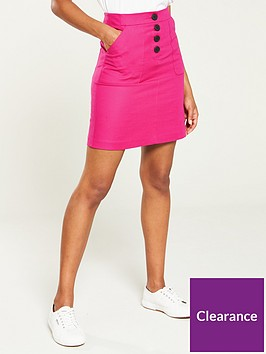 v-by-very-button-a-line-skirt-pink