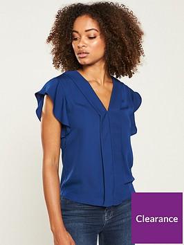 v-by-very-v-front-blouse-navy