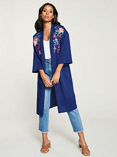 v-by-very-floral-embroidered-kimono-navy