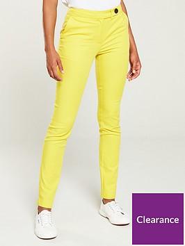 v-by-very-colour-pop-slim-leg-trouser-yellow