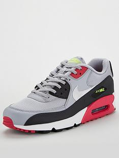 separation shoes 7ae5d eb8db Nike Air Max 90 - Grey Black Pink