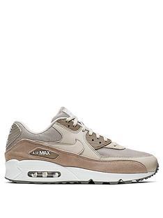 save off d0c7e 47346 Nike Air Max 90 - Stone