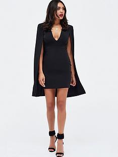 lavish-alice-fitted-cape-mini-dress