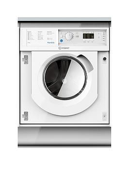Indesit   Biwdil7125 7Kg Wash, 5Kg Dry 1200 Spin Washer Dryer - White - Washer Dryer Only