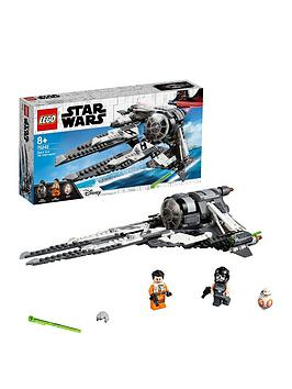 LEGO Star Wars Lego Star Wars 75242 Black Ace Tie Interceptor Picture