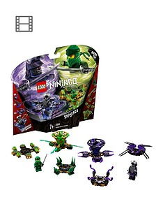 lego-ninjago-70664nbspspinjitzu-lloyd-vs-garmadonnbspspinners