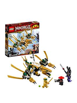 LEGO Ninjago Lego Ninjago 70666 The Golden Dragon Picture