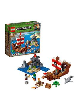 LEGO Minecraft Lego Minecraft 21152 The Pirate Ship Adventure Picture