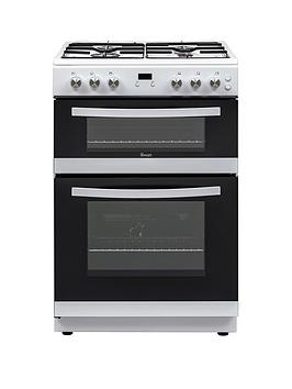Swan Swan Sx15890W 60Cm Wide Twin Cavity Gas Cooker - White Picture