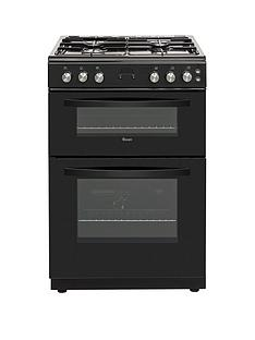 swan-sx15890b-60cm-twin-cavity-gas-cooker-black