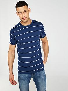 v-by-very-yarn-dye-stripe-t-shirt-navy