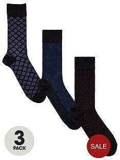 v-by-very-3pk-navy-smart-textured-socks