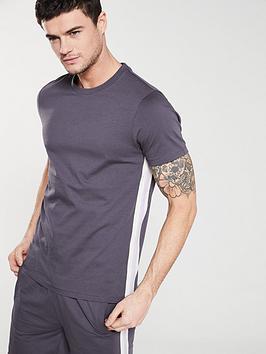 v-by-very-side-panel-t-shirt-dark-grey