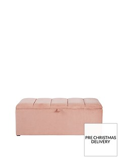 michelle-keegan-home-sabina-fabric-ottoman