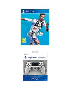 playstation-4-fifa-19-with-silver-dualshock