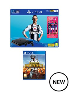 playstation-4-fifa-19-ps4-1tb-bundle-with-player-unknown-battlegrounds-with-optional-extras