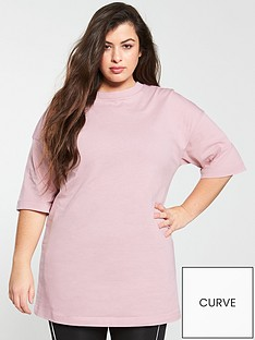v-by-very-curve-oversized-longline-t-shirt-pink