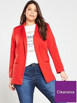 v-by-very-curve-jersey-longline-blazer-red