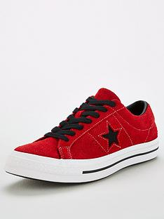 converse-one-star-trainers-red