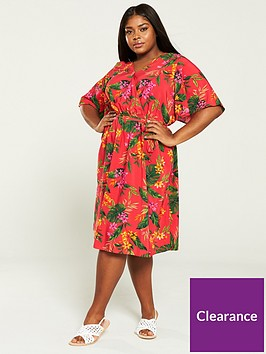 v-by-very-curve-printed-wrap-dress-tropical