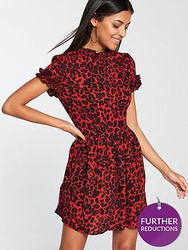 ax-paris-animal-print-day-dress