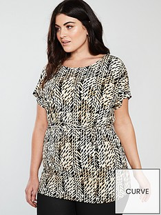 v-by-very-curve-geo-print-belted-top-multi