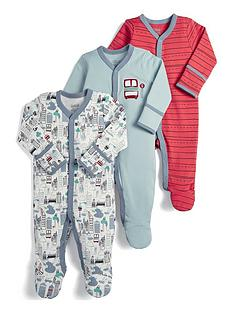 mamas-papas-baby-boys-3-pack-sleepsuits-bus-print-blue-and-stripe