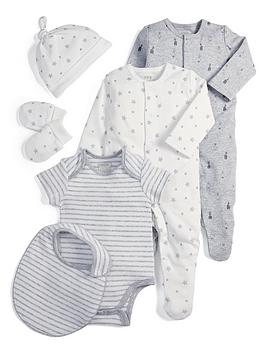 mamas-papas-unisex-6-piece-set-white