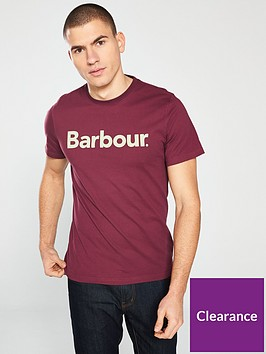 barbour-logo-t-shirt-ruby