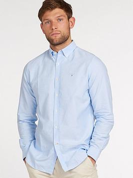 Barbour Barbour Oxford Tailored Shirt - Blue Picture