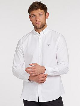 Barbour Barbour Oxford Tailored Shirt - White Picture