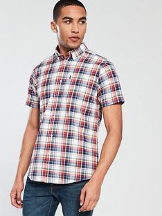 barbour-madras-check-short-sleeved-shirt-redblue