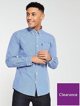 barbour-gingham-tailored-shirt--nbspblue